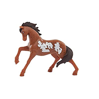 Spirit Riding Free 10 Piece Horse Collection Packaging: Toys & Games