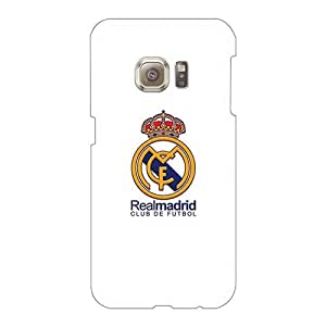 Shockproof Cell-phone Hard Cover For Samsung Galaxy S6 (hiY3313nbbt) Unique Design Lifelike Real Madrid Cf Series