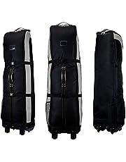 PGM Golf Travel Bag Cover Rädern–--- Double Deck, dicker, wasserdicht Nylon, mit Boden