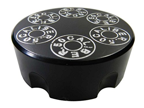 Gas Cap Black 6061 Billet Aluminum Fits Polaris RZR RZR4 Ranger All Years All Models [5349-A]