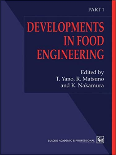 Developments In Food Engineering Proceedings Of The 6th International Congress On And Softcover Reprint Original 1st Ed