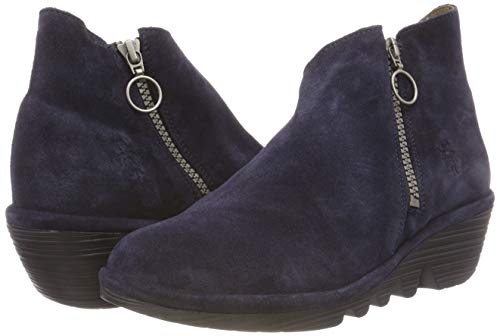 Blu navy 004 Donna Stivaletti London Poro893fly Fly xwAqI1XSW