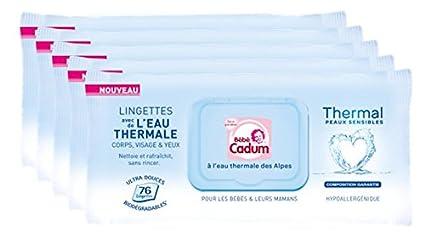 Bébé Cadum Thermal Toallitas Húmedas para Bebés - 76 toallitas
