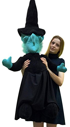 Big Plush American Made Giant Stuffed Witch 40 Inches Tall Halloween Made in the USA (Very Scary Halloween Games Online)