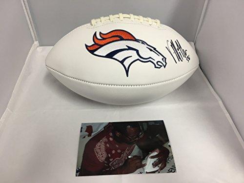 Miller Autographed Broncos Football Hologram