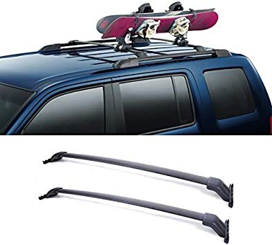 Fit For 09-15 Honda Pilot  Roof Rack Side Rails Set Luggage Carrier Bar OE style