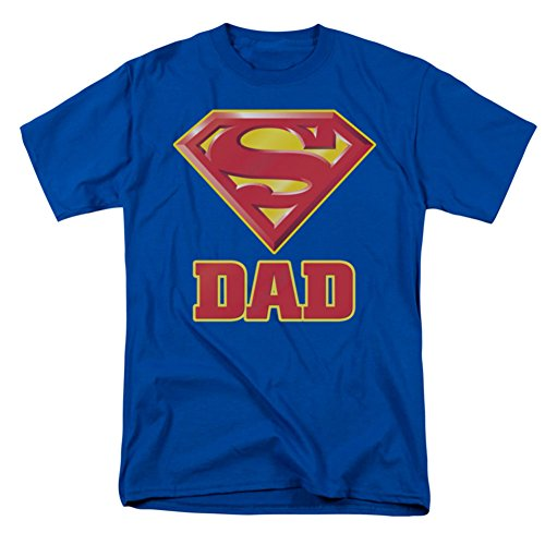 Superman Mens Super T shirt Blue