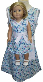 Matching And Girl And Doll Clothes Clothes Size 6 A-Line Dress Dress B01053N0L2, meteor:f73f4c94 --- arvoreazul.com.br