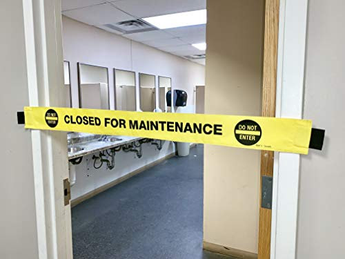 Dart's Goods Closed for Maintenance Sign! with Magnetic Ends! Folds Up for Easy - Sign Magnetic Door
