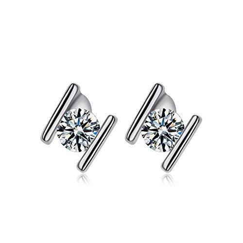 Redbarry Letter Design Diamond Earrings product image