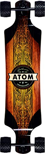 "Atom Longboards Atom All-Terrain Longboard - 39"" , Woody"