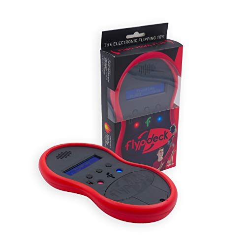 Flypdeck - The World's First Handheld Electronic Flipping Action Toy Game - As Seen On Kickstarter (Red) from Flypdeck