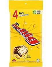 Cadbury Mr. Big Chocolate Candy Bar, 4 Pack, 240g Multi-Pack