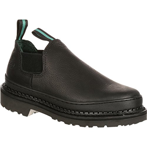 Georgia Men's GR270 Giant Romeo Work Shoe-M Steel Toe Boot, Black, 7.5 W -