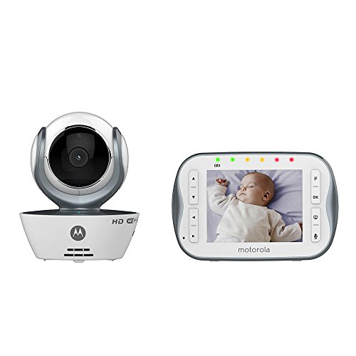 Motorola MBP843CONNECT Digital Video Baby Monitor with 3.5-Inch Screen and Wi-Fi Internet Viewing