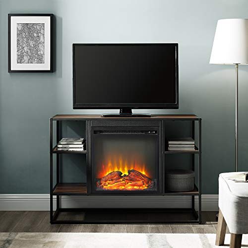 fireplace as tv stand - 8