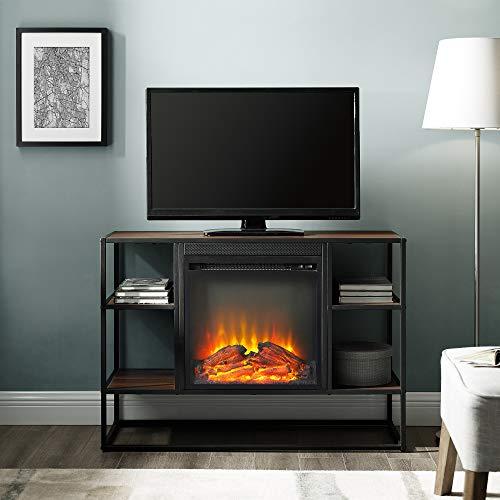 WE Furniture AZ40FPJERDW Fireplace TV Stand 40