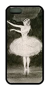 Ballet Dance Painting Theme iphone 4 4s case pc hard Material