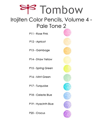 Tombow Irojiten Colored Pencils, Woodland, 30-Pack by Tombow (Image #5)