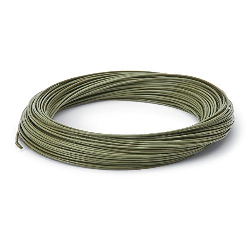 Cortland Line Spring Creek Fishing Line, Olive, Size 4