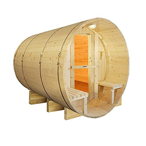 ALEKO SB8PINECP Finnish White Pine Indoor Outdoor Wet Dry...