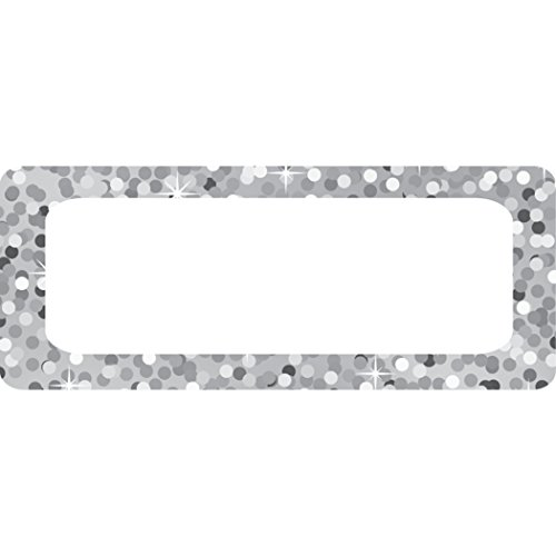Ashley Productions Silver Sparkle Magnetic Small Nameplates by Ashley Productions (Image #1)