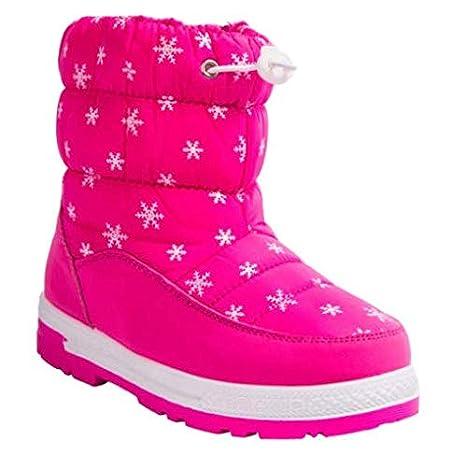 Amazon.com Boots Pink Size 2 Children Snow Boots Girls