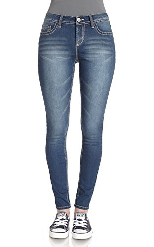 WallFlower+Juniors+Irresistible+Jegging+in+Varsity+Blue+Size%3A+13