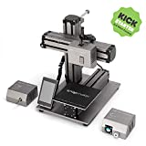 3 in 1 Printer - Snapmaker 3-in-1 3D Printer (3D Printing/CNC Carving/Laser Engraving), All-Metal Build, Entry-Level Digital Fabrication Tool, Easy to Use Software, Free PLA Filament, Upgraded Version