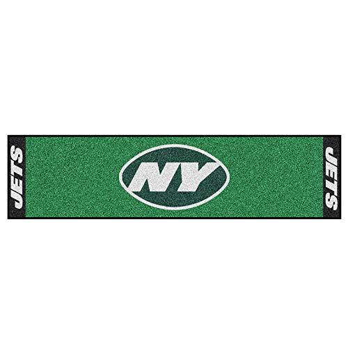 FANMATS NFL New York Jets Nylon Face Putting Green Mat ()