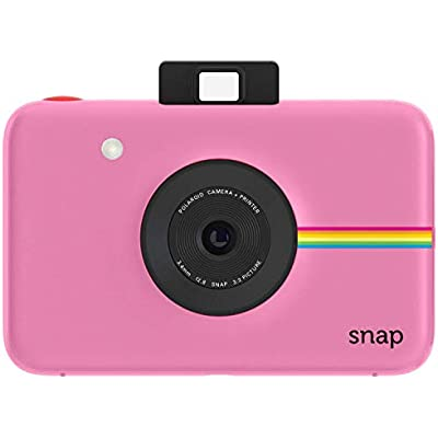 Polaroid Snap Instant Digital Camera  Pink  with ZINK Zero Ink Printing Technology