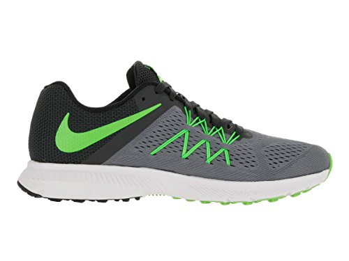 Nike-Mens-Zoom-Winflo-3-Cl-GreyElctrc-GrnAnthrctBlk-Running-Shoe-12-Men-US