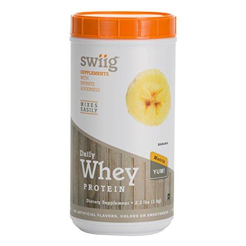 swiig Banana Whey Protein Matrix 2.2 lbs