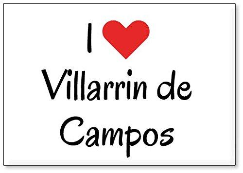 Mundus Souvenirs - Amo Villarrin de Campos, Imán para Nevera ...