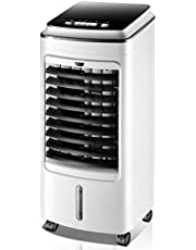LIJIANZI Worth having/Portable Air Conditioner w/5L Water Tank, Air Conditioning 3-In-1 Cool/Fan/Dehumidify, Quiet Energy Efficient Self Evaporation Mobile Air-Conditioning for Bedroom, Office, Kitc