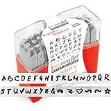 ImpressArt 33-Piece Uppercase Stamp Set, Scarlett's Signature, 2.5mm
