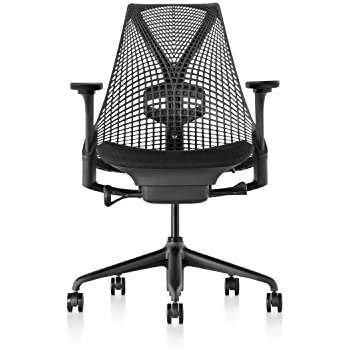 Herman Miller Sayl Chair, Licorice Crepe - AS1SA2