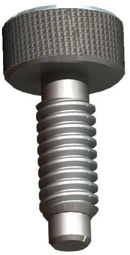 Innovative Components AP6CSML21 Hand Retractable Plunger Pin, Metal Knob with Lock Out feature 3/8-16 thread  .25