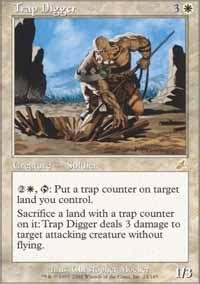 Magic: the Gathering - Trap Digger - Scourge