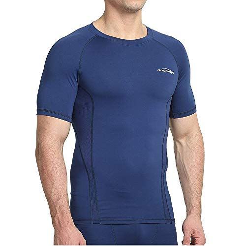 COOLOMG Kompressionsshirt Funktionswäsche Unterhemd ärmellos für Herren Jugend Sport Fitness Running MEHRWEG