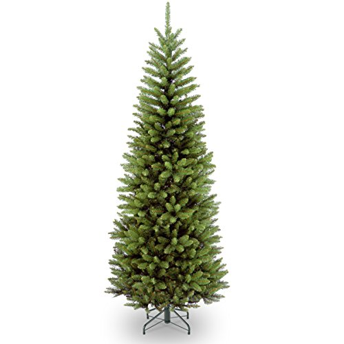 National Tree Company Artificial Christmas Tree | Includes Stand | Kingswood Fir Pencil - 6 ft