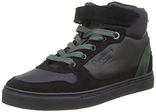 Pepe Jeans London Jungen Montreal Lacces Sneaker Blau (Navy)