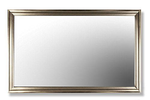 """TV Lift Cabinet 49"""" Smart TV Mirror with Frame"""