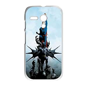 Batman And Superman Comic Motorola G Cell Phone Case White gift pp001_6474624