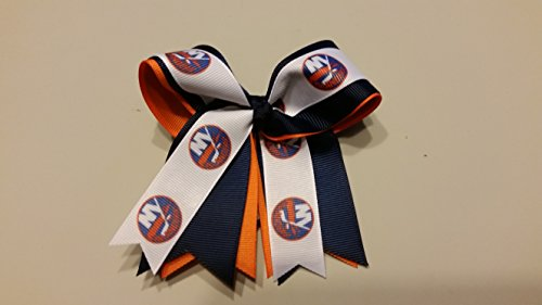 fan products of New York Hockey Hair Bow