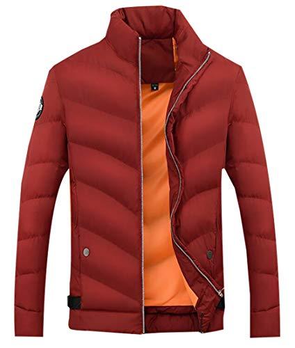 Water Lightweight Long Down Red Packable Wine Resistant Sleeve EKU Men's Jacket wfpISW