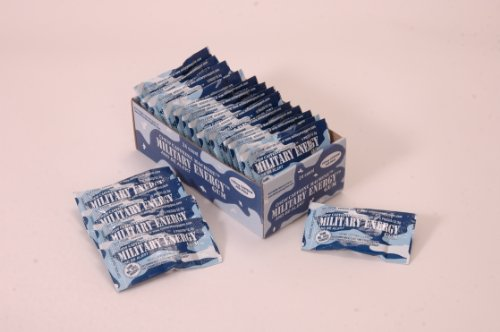 Military Energy Gum (MEG) - Arctic Mint - Tray (24 packs - 5pcs/pk) 100mg caffeine/pc - Military Specification Formula