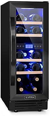 Klarstein Vinovilla Onyx 17 nevera para vinos con puerta ...