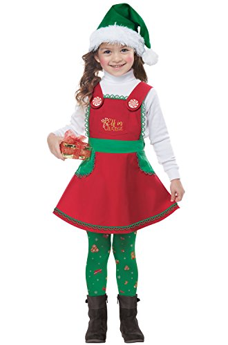California Costumes Elf In Charge Toddler Costume-Large (4-6) -