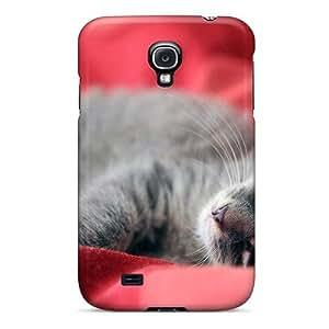 High Grade LisaMichelle Flexible Tpu Case For Galaxy S4 - Cute Kitten Full Hd